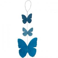 Guirlande 'Papillon'  bleu