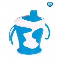 Tasse avec anses  'Little cow' bleu