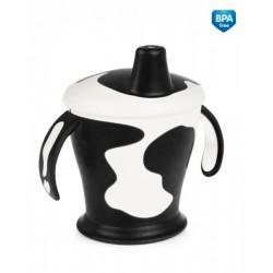 Tasse avec anses  'Little cow' noir