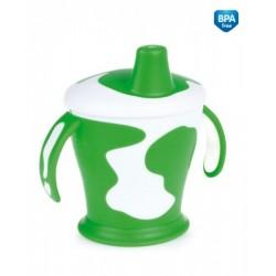 Tasse avec anses  'Little cow' vert