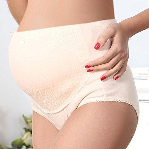 Culotte de maternité blanc T:L