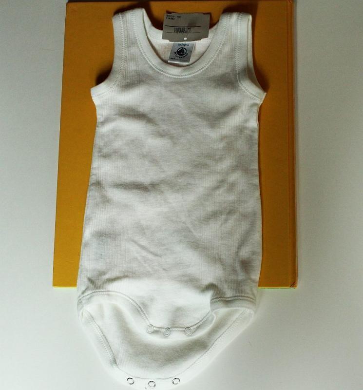 Body blanc  3 mois