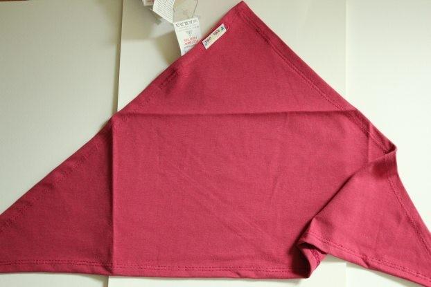 Bavoir bandana  rose fushia