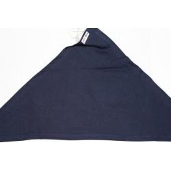 Bavoir bandana bleu marine