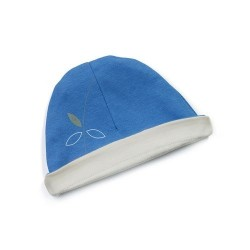 Bonnet réversible 'riviera bleu'  6-12 mois