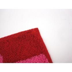 Petite serviette de toilette  'Silhouette NEKO' rouge