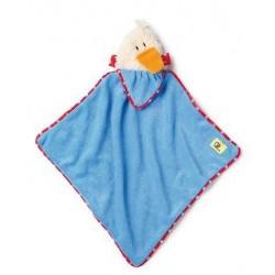 Doudou bleu 'canard'