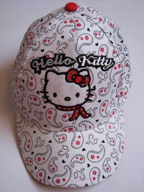 Casquette 'hello Kitty' à...