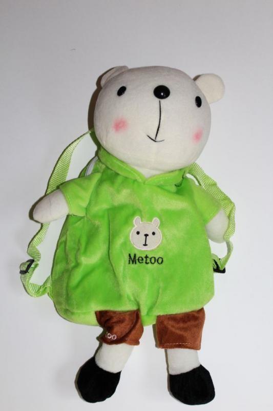 Sac à dos  'Métoo' ours vert