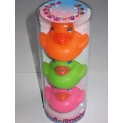 3 canards de bain arroseurs