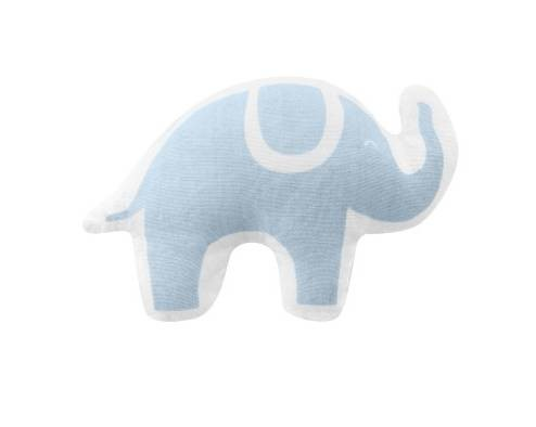 Hochet 1er âge éléphant bleu