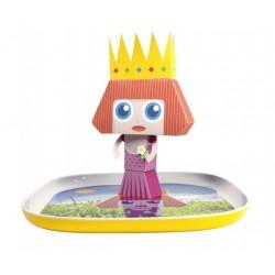 Assiette plate: Princesse