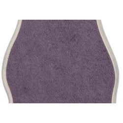bavoir prot ge paule aubergine. Black Bedroom Furniture Sets. Home Design Ideas