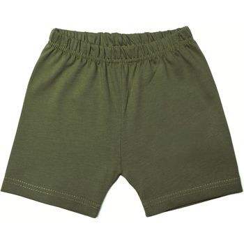 Short en coton kaki  18 mois