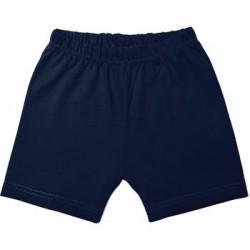 Short en coton marine  18 mois