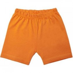 Short en coton orange 18 mois LIMO Basics