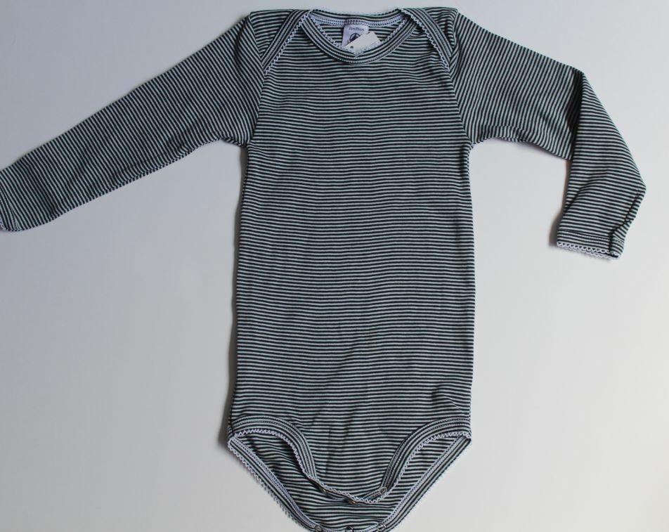 Body rayé bleu marine 24 mois