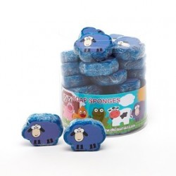 Eponge de bain forme 'mouton'