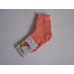 Chaussettes 'unies orange' P:18-20