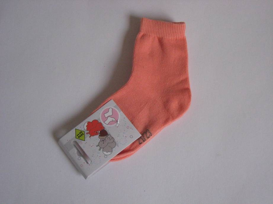 Chaussettes 'unies orange'...
