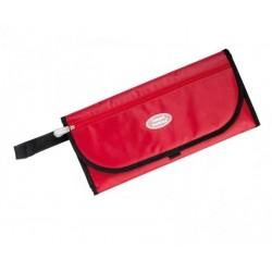 Pochette à langer ultra compacte- rouge