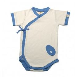 Body kimono 'riviera bleu' 3-6 mois