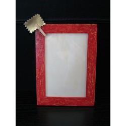 Cadre photo en bois décoré 13x18 cm