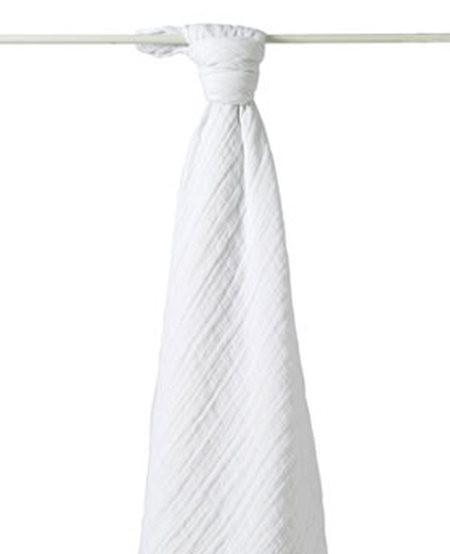 Lange en coton blanc...