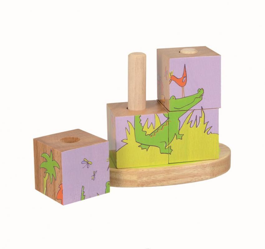 4 Cubes à empiler