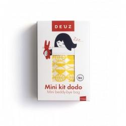 Kit dodo pour doudou et poupée-Jaune