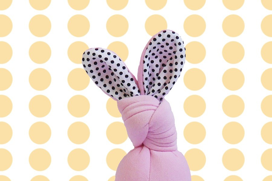 Doudou Bunny Rose