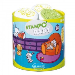 Tampons pour enfant  Stampo Baby -animaux familiers-