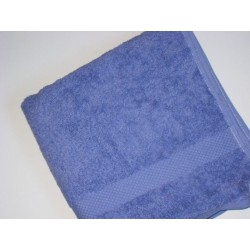 Serviette de toilette en coton bio 'lavande'