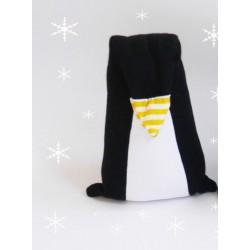 Doudou Pingouin en coton