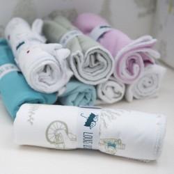Lange en coton imperméable