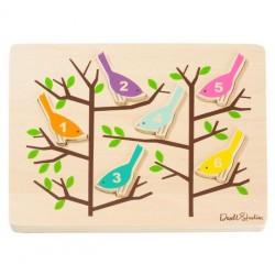 Puzzle en bois 'les oiseaux' DwellStudio