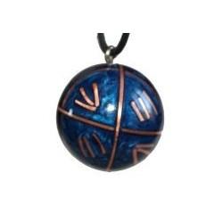 Bola de grossesse 'Zen' bleu