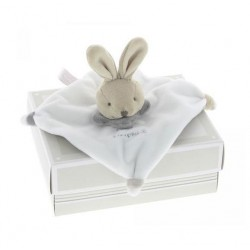 Doudou 'lapin blanc'