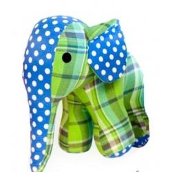 Eléphant  bleu-vert