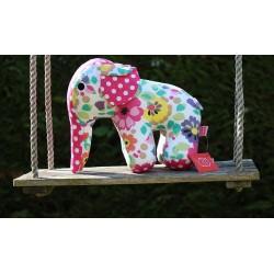 Eléphant tout fleuri