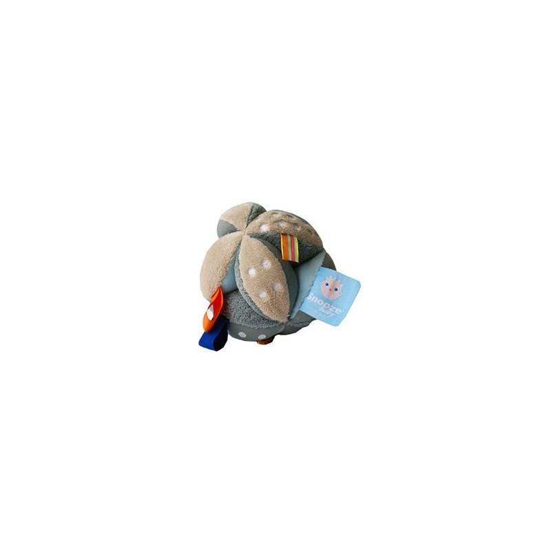 Balle 'Camel' avec étiquettes et grelot