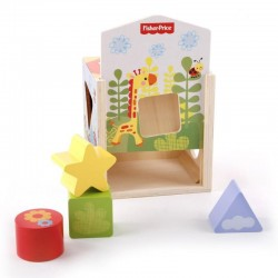 Maison en bois et blocs  Fisher-Price