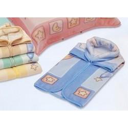 Baby sac-Nid d'ange bleu Motifs Ours dans hamac