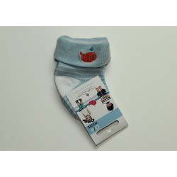 Chaussettes bleues 'Twinday'  0-6 mois