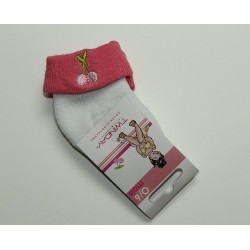 Chaussettes roses 'Twinday'  0-6 mois