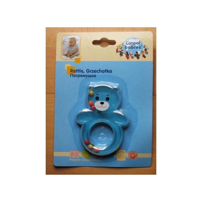 Hochet 'koala' pour bébé dès 3 mois (bleu)