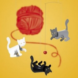 Mobile '3 petits chats' (Click-a-Mobile)