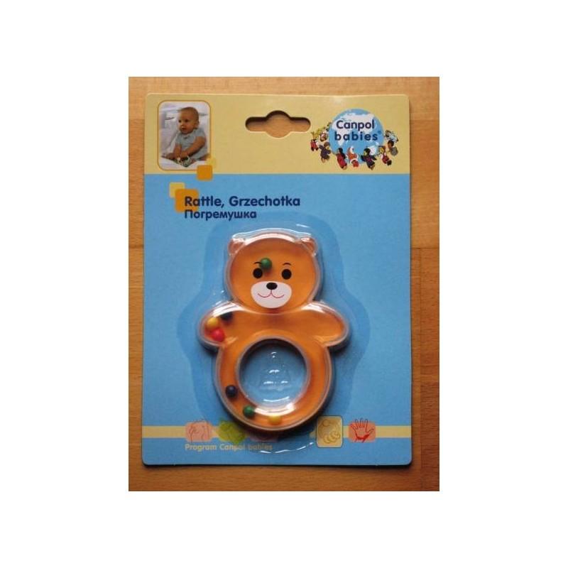 Hochet 'koala' pour bébé dès 3 mois (orange)