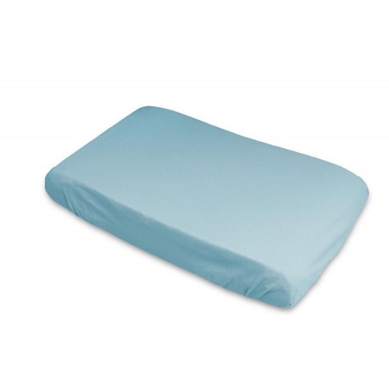 Housse de matelas à langer imperméable Bleue