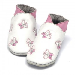 Chaussons 'papillons' Baby Dutch  6-12 mois